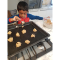 Delicious cookies, I can't wait to taste some!