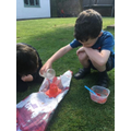 Making explosive volcanoes!