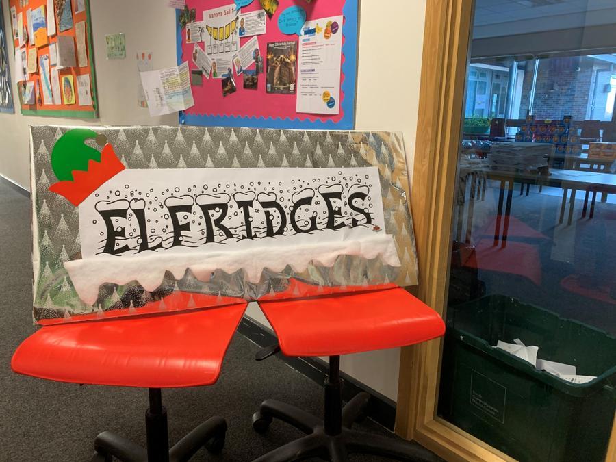 Elfridges Christmas Shop!