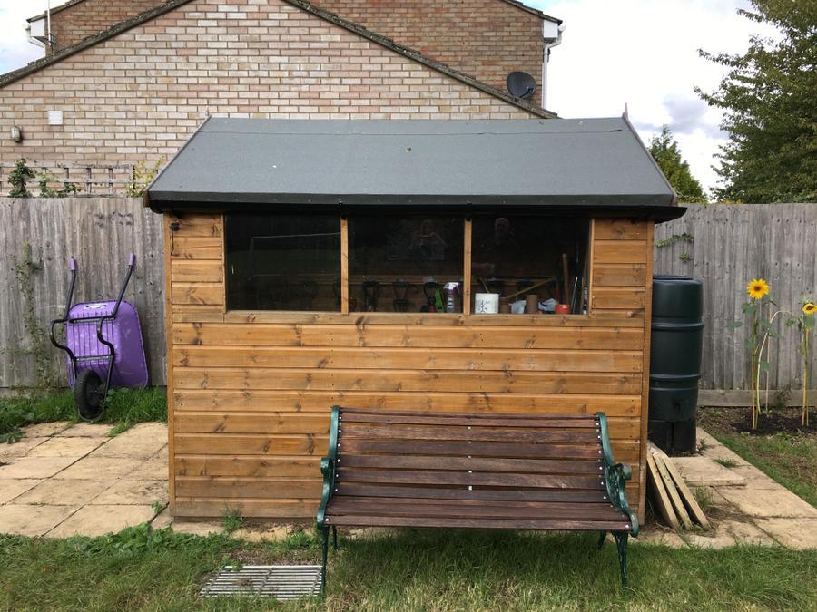 Hardwick new gardening shed