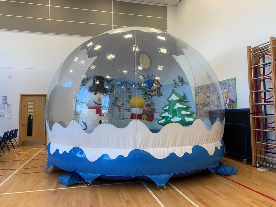 The Snow Globe Bouncy Castle