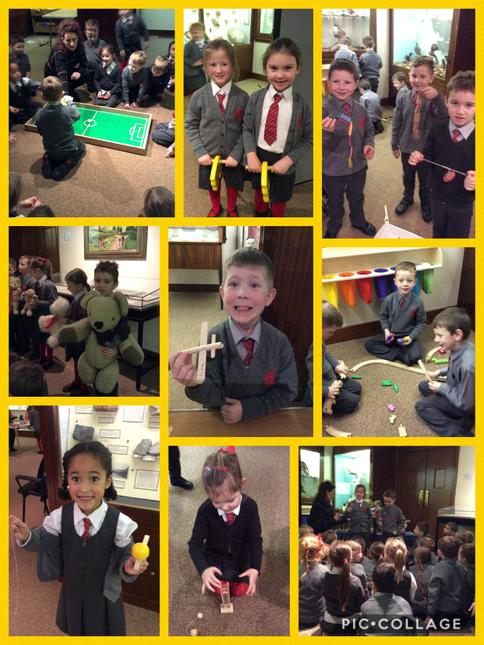 We loved learning all about old and new toys.