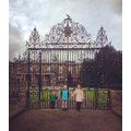 The gates at Hillsborough Castle