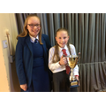 Katie Young Cup for Top P6 Sports Person