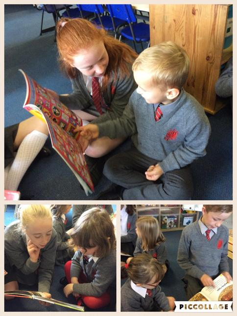 Mindful Monday: We made new P6 friends!