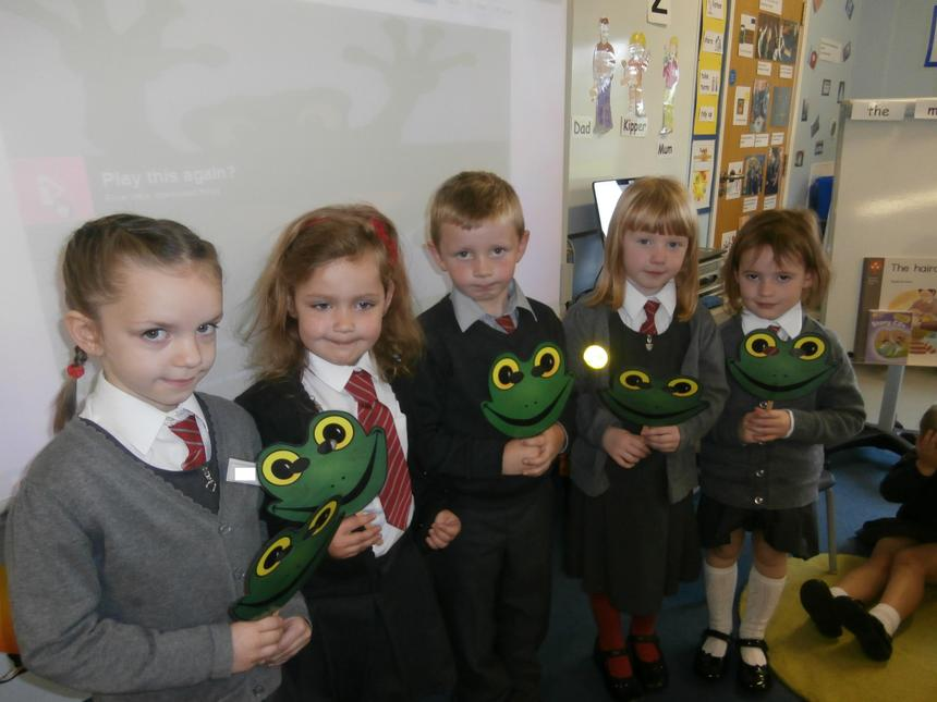 Counting with Five Little Speckled Frogs!