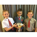 Billy Young Cup for Top P5 Sports Person