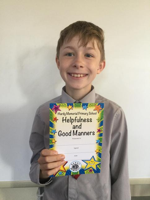 HELPFULNESS AND GOOD MANNERS