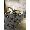 Making Lentil Dosas