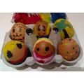 Sophia - Easter Egg Decorating!