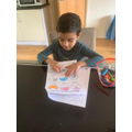 1C Rajdeep - working hard on fractions