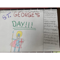 Saanvi - St. Georges Day