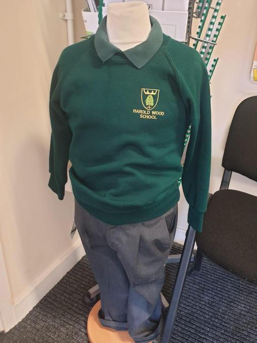Boys uniform - yellow/green polo can be worn