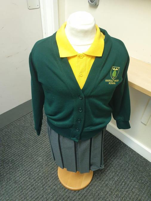 Girls uniform - yellow/green polo can be worn