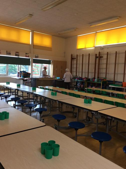 Reception & KS1 Lunch Hall