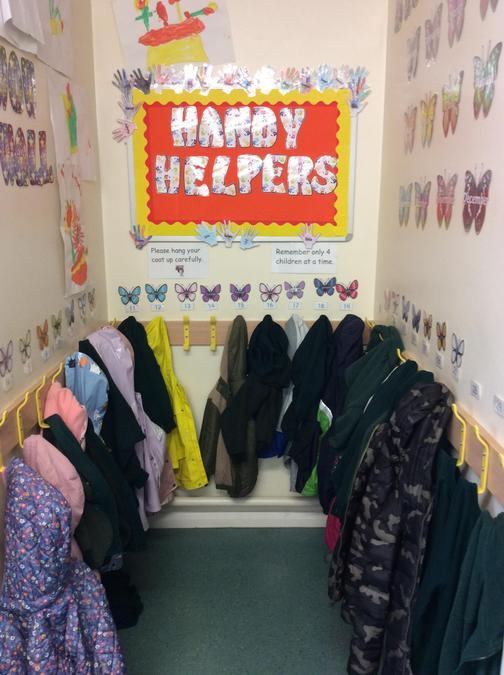 Butterfly Cloakroom