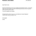 Noticeboard - school website