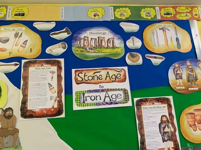Year 3 displays