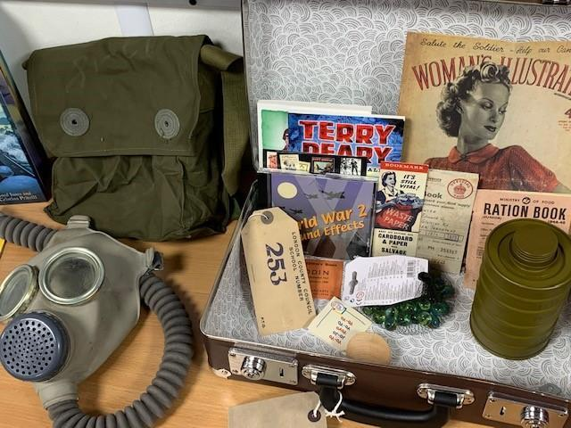 Artefacts in Year 5 for World War II