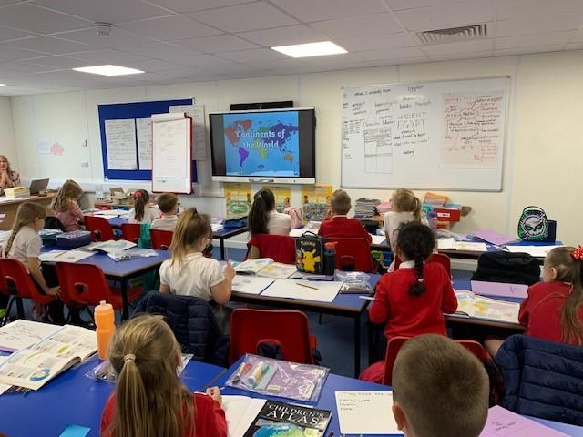 Geography lessons - Year 4