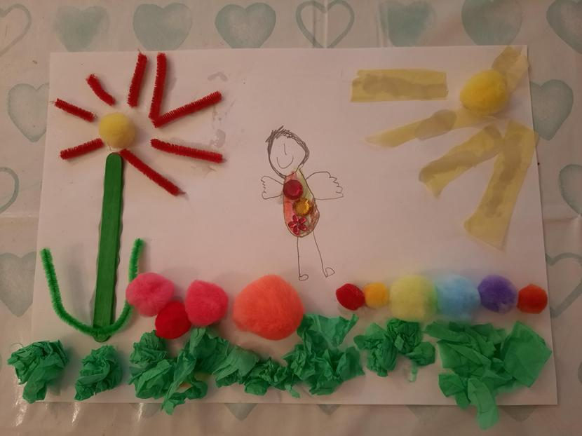 Eleanor's beautiful sensory picture.