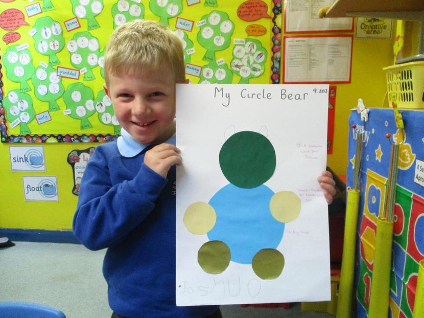 We made Circle Bears.