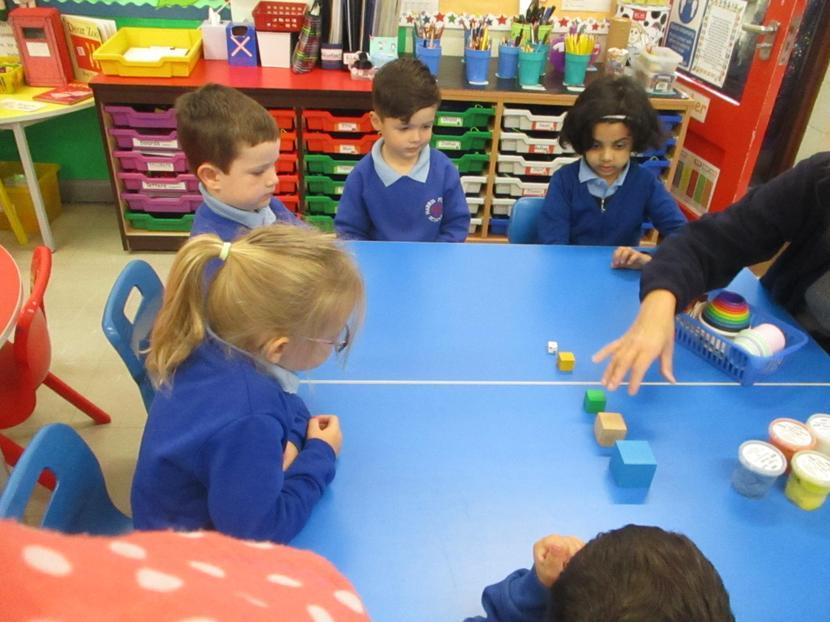 Exploring, making and describing sizes.