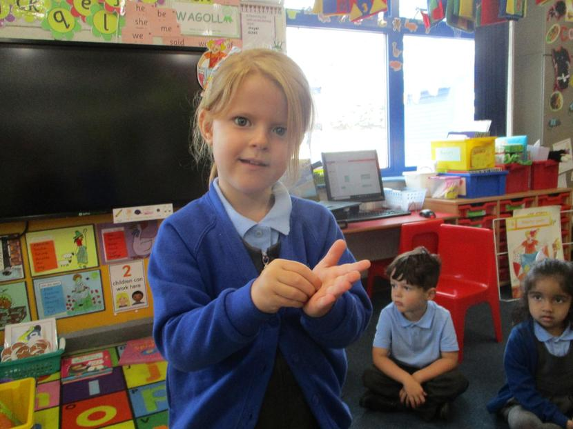 We thought of different ways we could make sounds.