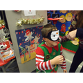 Pin the nose on Rudolph was great fun