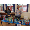 £1 a bottle stall -Thank you Mrs Johnson & Mrs Cox