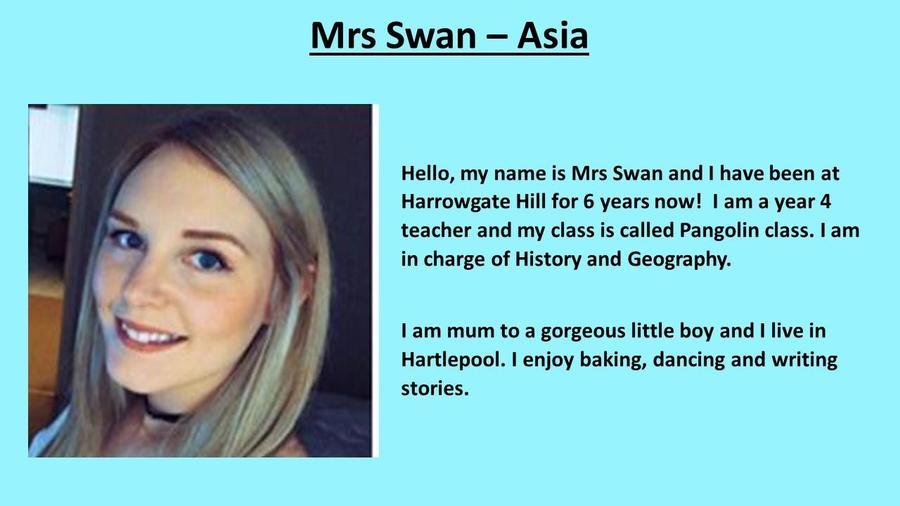 Mrs Swan
