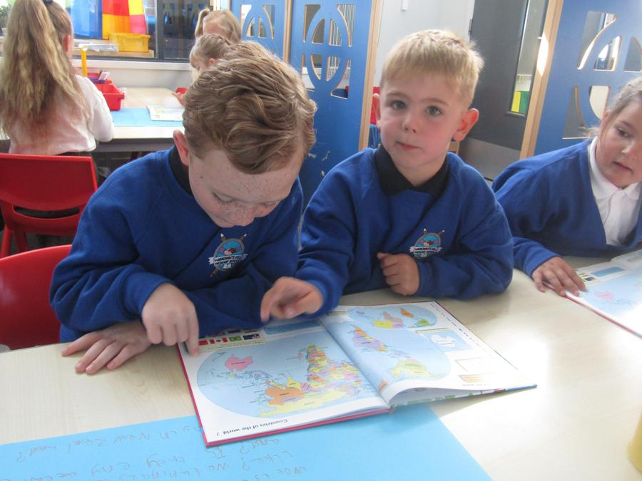 We used an atlas to locate Australasia.
