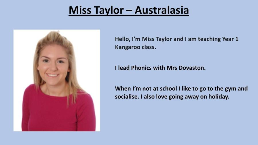 Miss Taylor