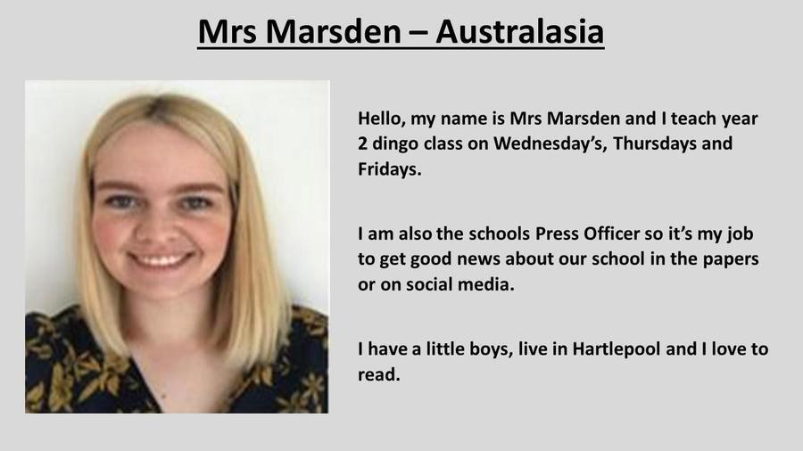 Mrs Marsden