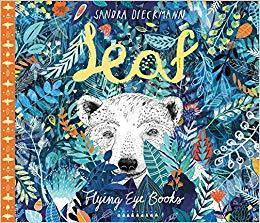 Book cover of Leaf, by Sandra Dieckmann