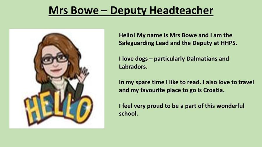 Mrs Bowe