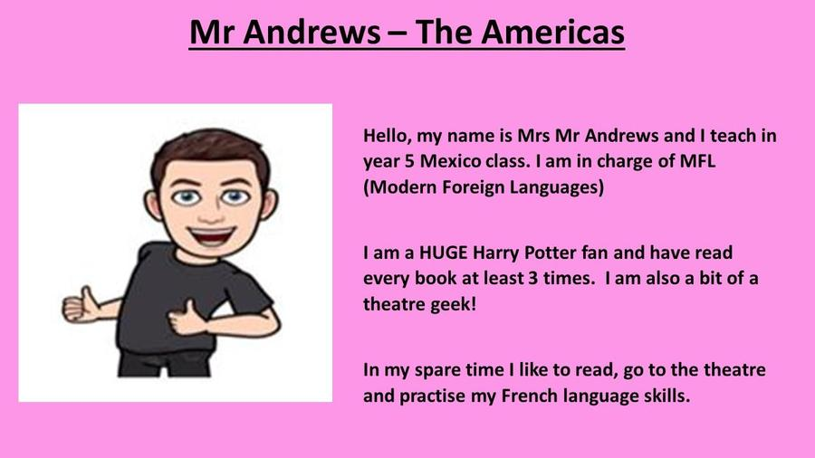 Mr Andrews