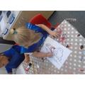 Making aboriginal art