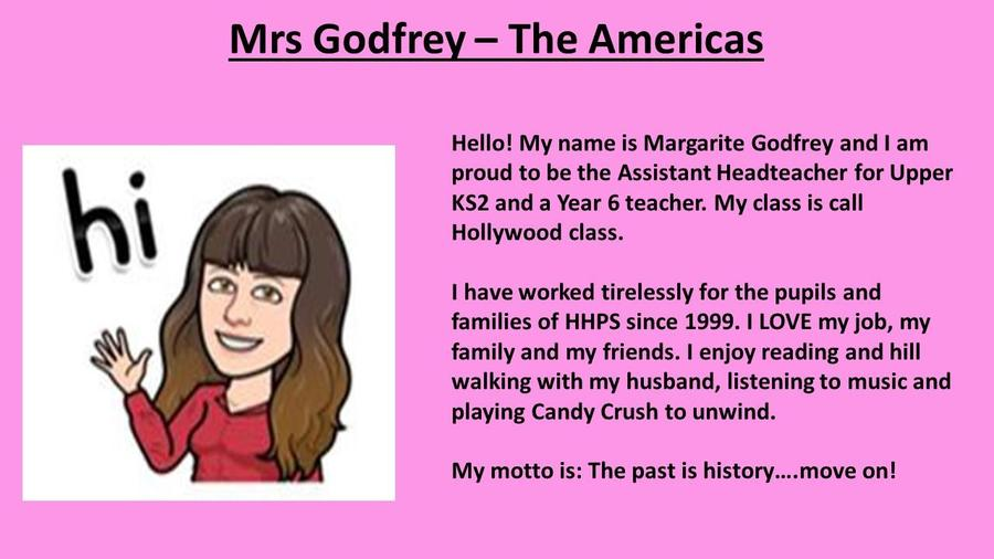 Mrs Godfrey