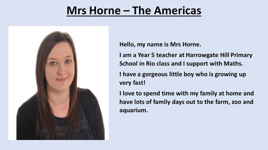 Mrs Horne