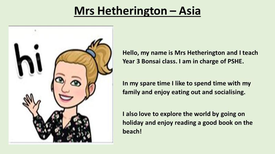 Mrs Hetherington