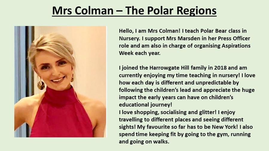 Mrs Colman
