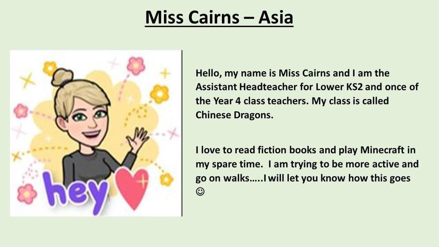 Miss Cairns