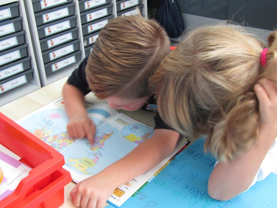 We found New Zealand, Australia and Indonesia.