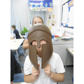 The helmet was very heavy!!
