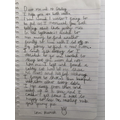 Zac's wonderful letter from Hamish