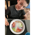 Cam's rainbow experiment