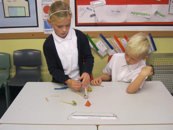 Building 3D shapes