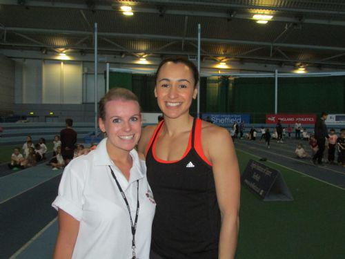 Mrs Bothma and Jessica Ennis!