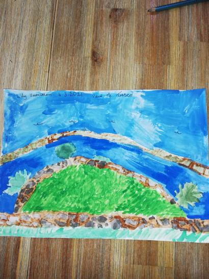 Well done Lily. We love your landscape